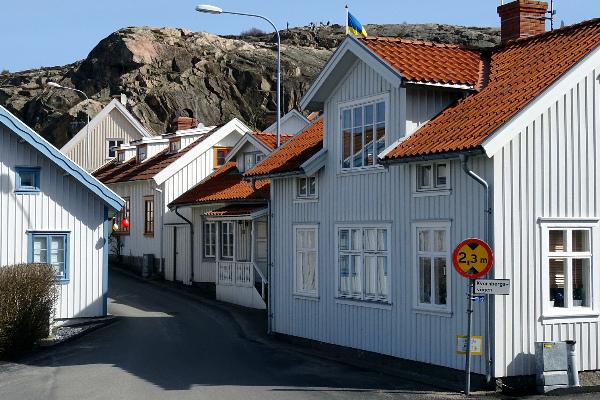 Каркасные дома. Швеция.