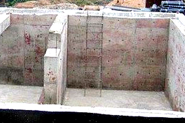 Фундамент заглубленная лента