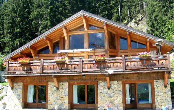Крыша в стиле шале